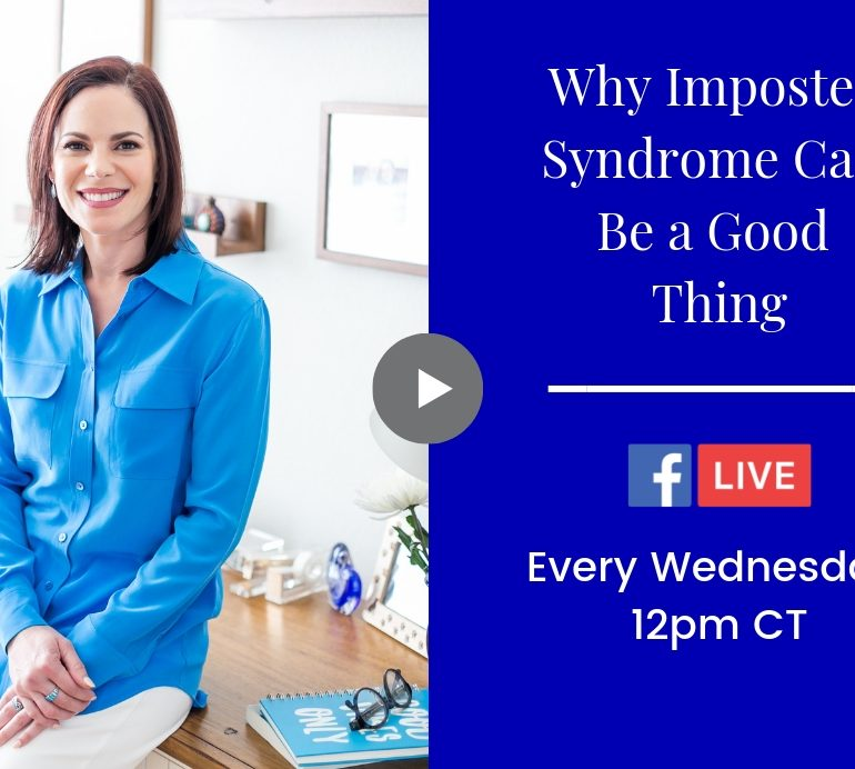 Why Imposter Syndrome Can Be a Good Thing