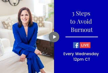 Three Steps to Avoid Burnout