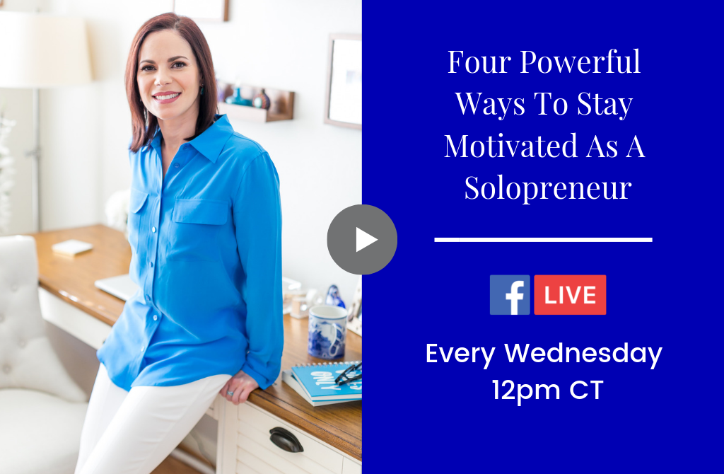 Four Powerful Ways to Stay Motivated as a Solopreneur