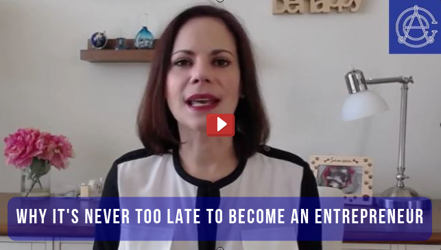 Why It's Never Too Late To Become An Entrepreneur