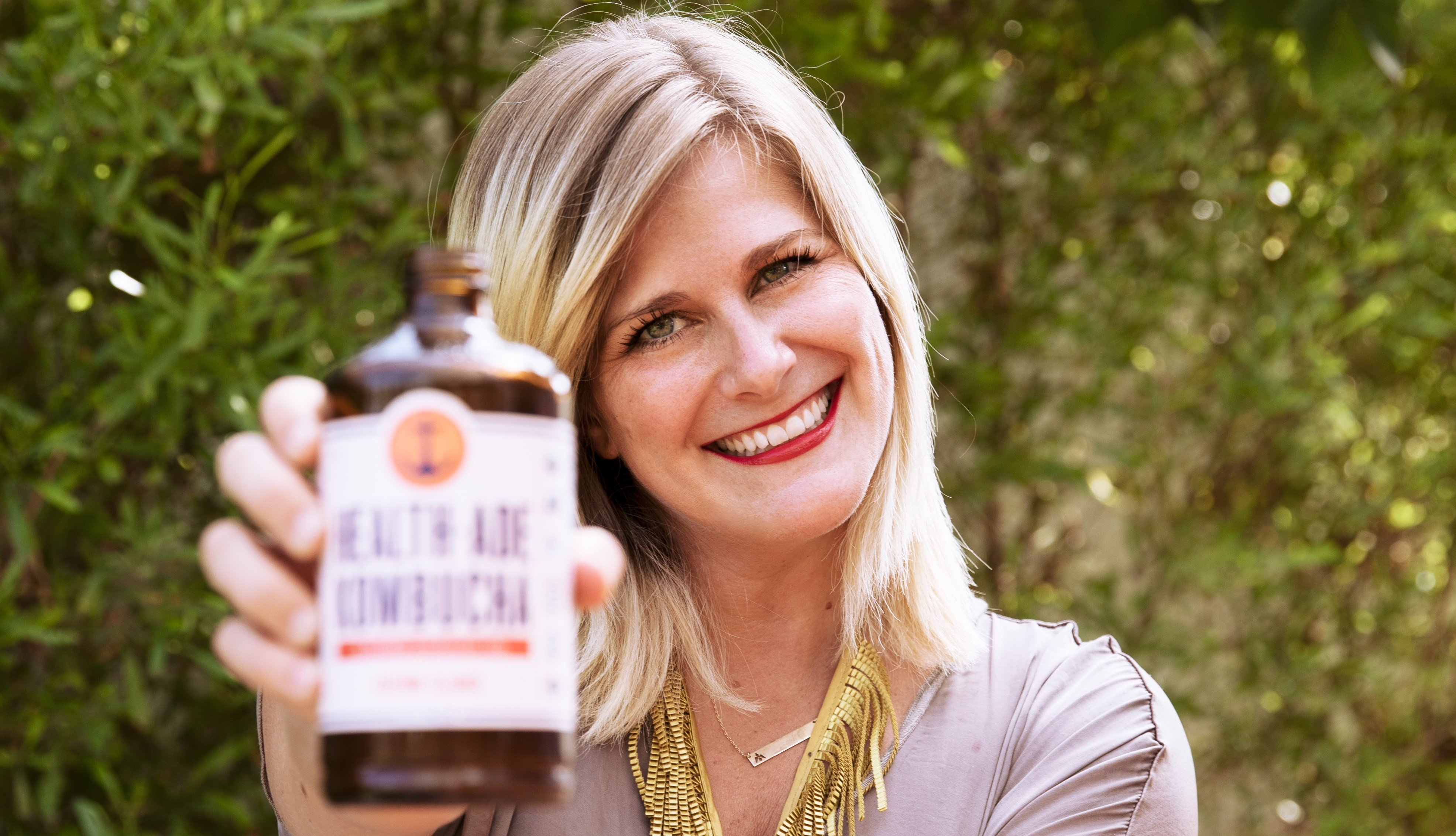 CEO and Mom Went from Tiny Startup to Queen of Kombucha